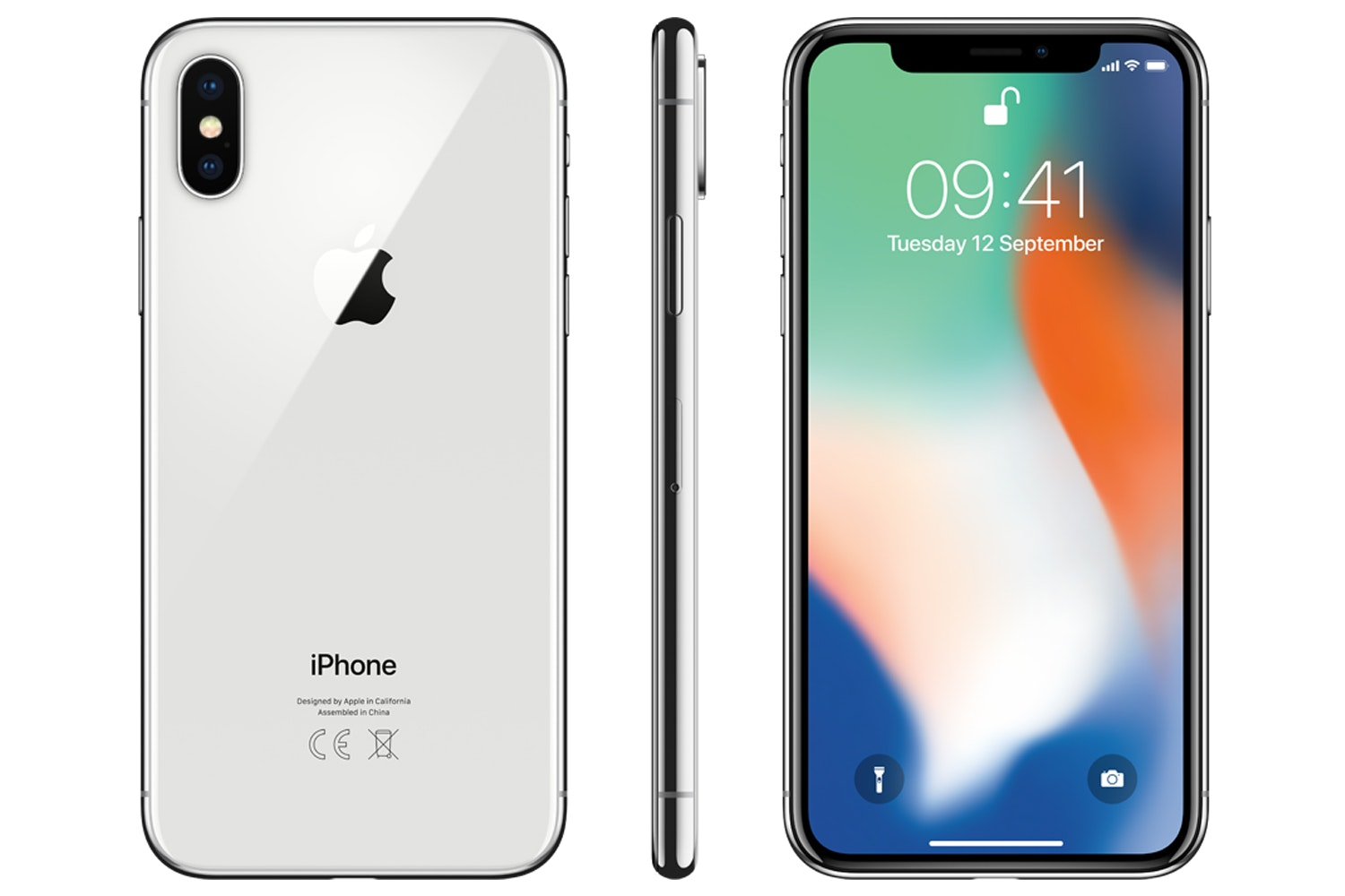 iPhone X | Silver | 64GB