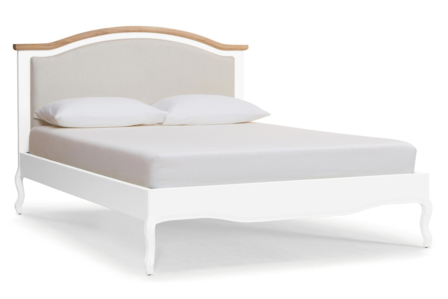 Bouvard Bed Frame | 5ft | Arctic Blonde