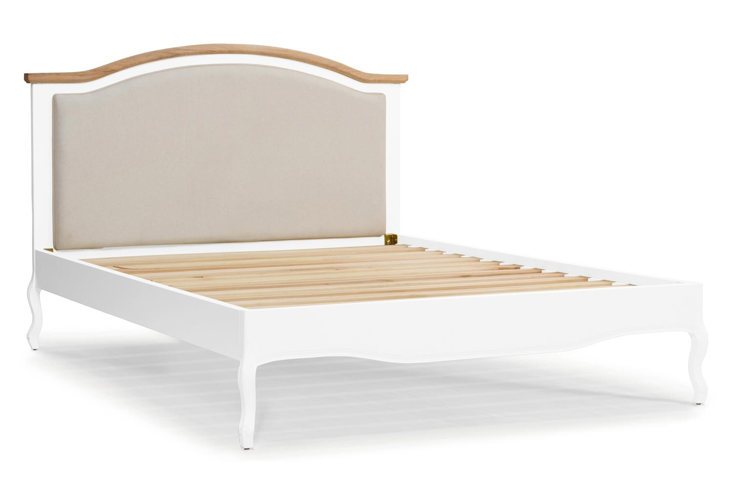 Bouvard Bed Frame 4ft6 | Arctic Blonde