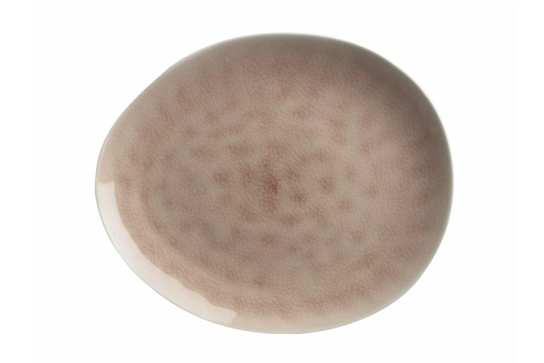 Mw Artisan Plate   Dusk Pink 27X23Cm