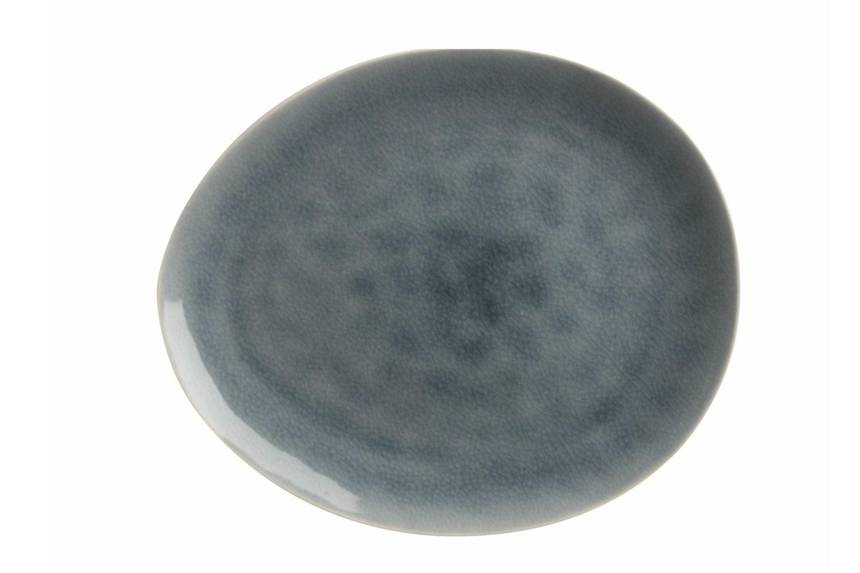 Mw Artisan Plate | Cloud Blue 27X23Cm