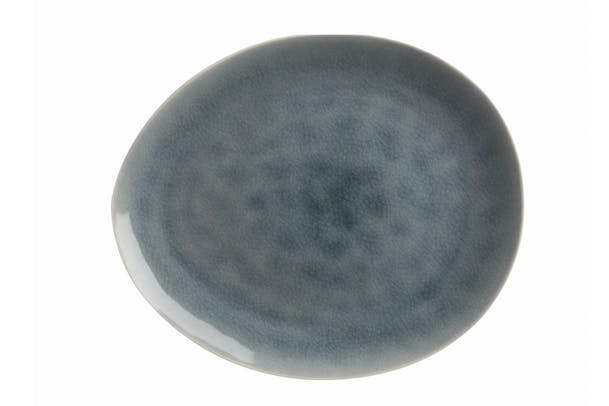 Mw Artisan Plate | Cloud Blue 27X23Cm