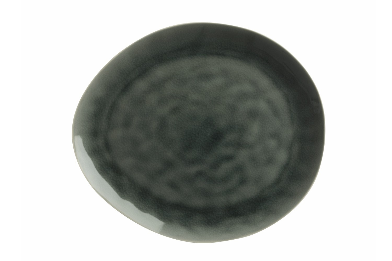 Mw Artisan Platter   Storm Grey 33X29Cm
