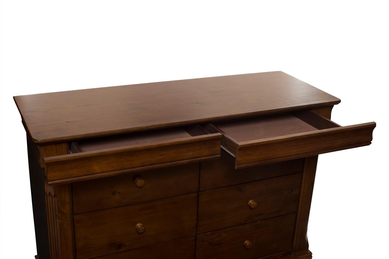 Chantelle 8 Drawer Dresser Chest | Fonce