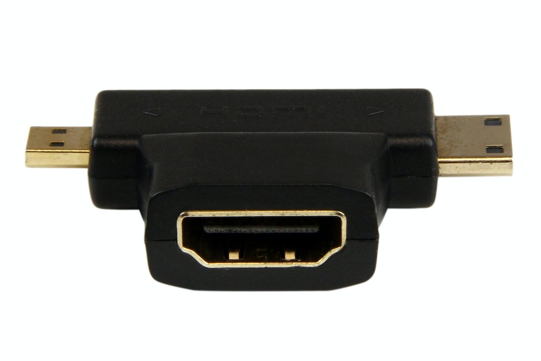 StarTech HDMI 2-in-1 T-Adapter - HDMI to HDMI Mini