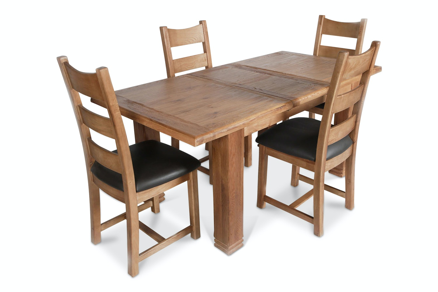 Kingston 5 Piece Dining Set With Padded Chairs
