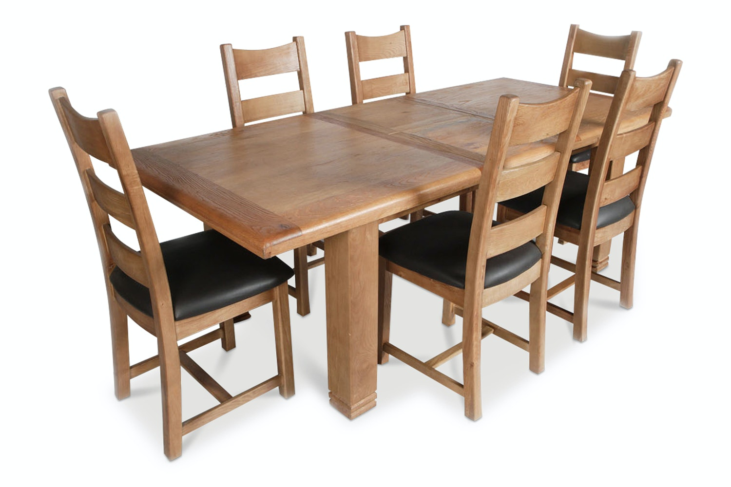 Kingston 7 Piece Dining Set With Padded Chairs