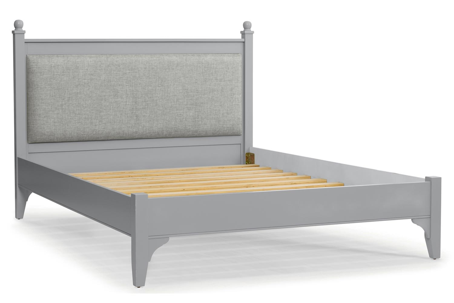 Lynwood Bed Frame | 5ft | Tweed Stone&Vintage Silver