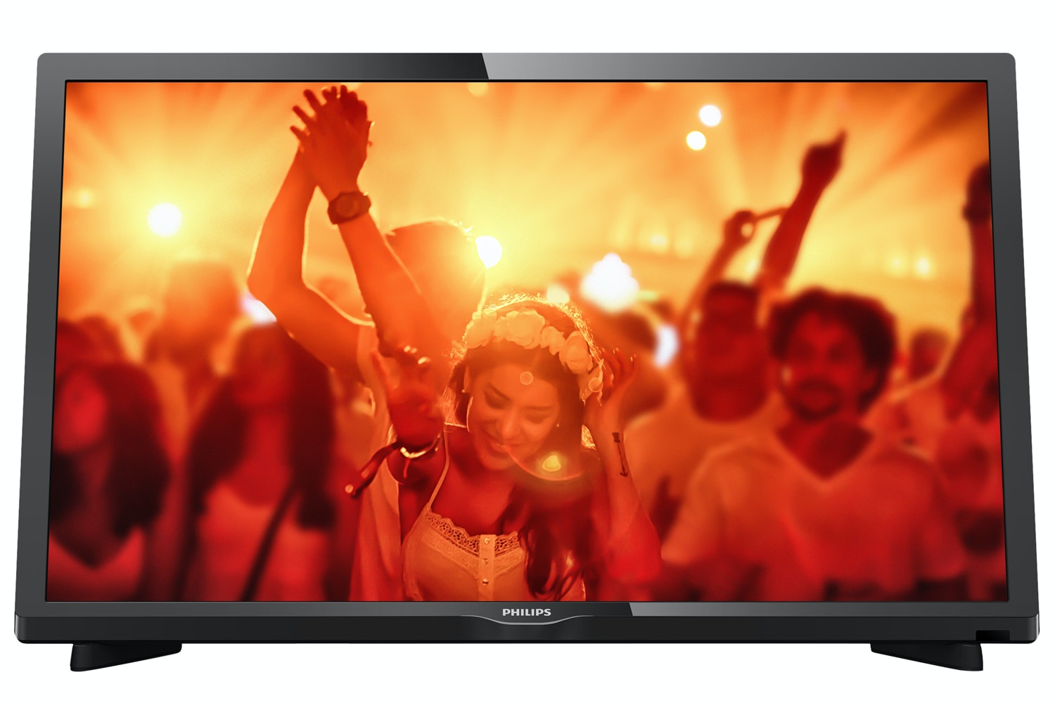 "Philips 22"" Full HD Ultra Slim LED TV 