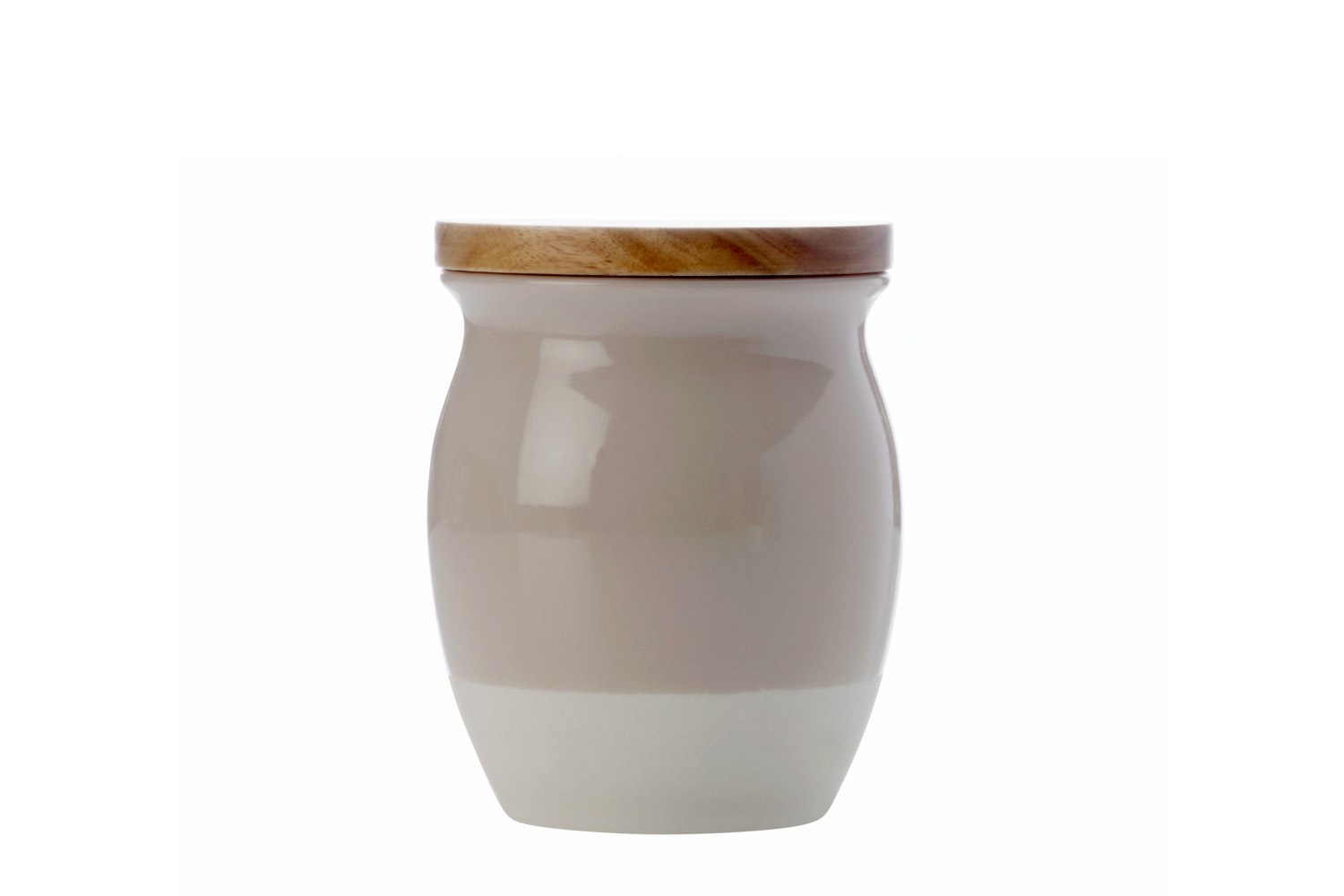Mw Artisan Dipped Canister | Small| Biscuit