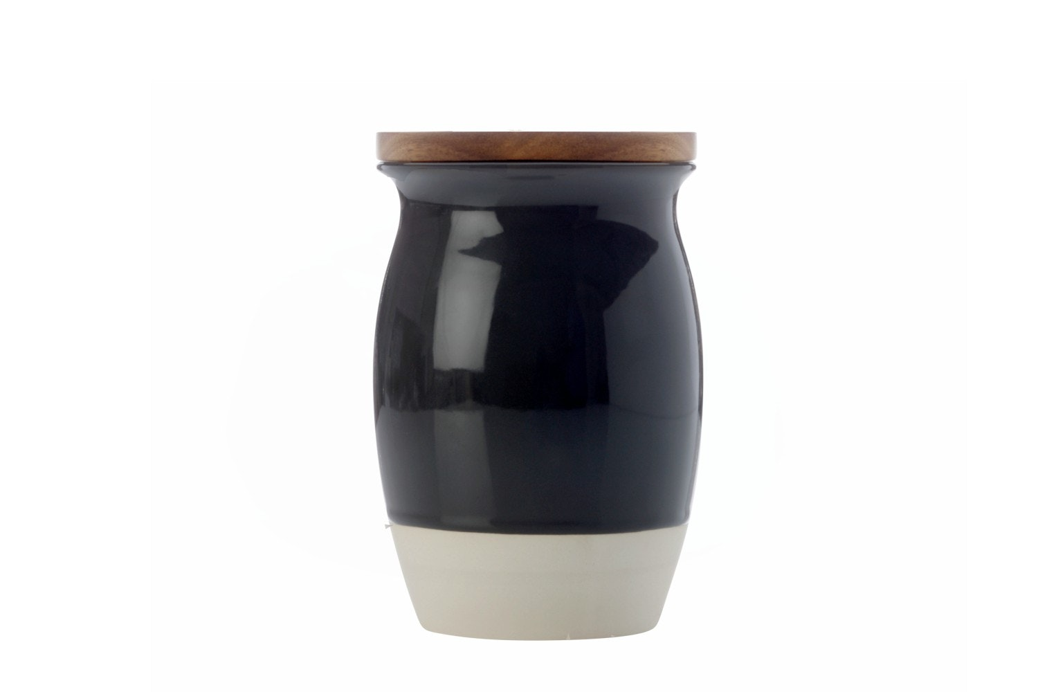 Mw Artisan Dipped Canister |Large | Charcoal