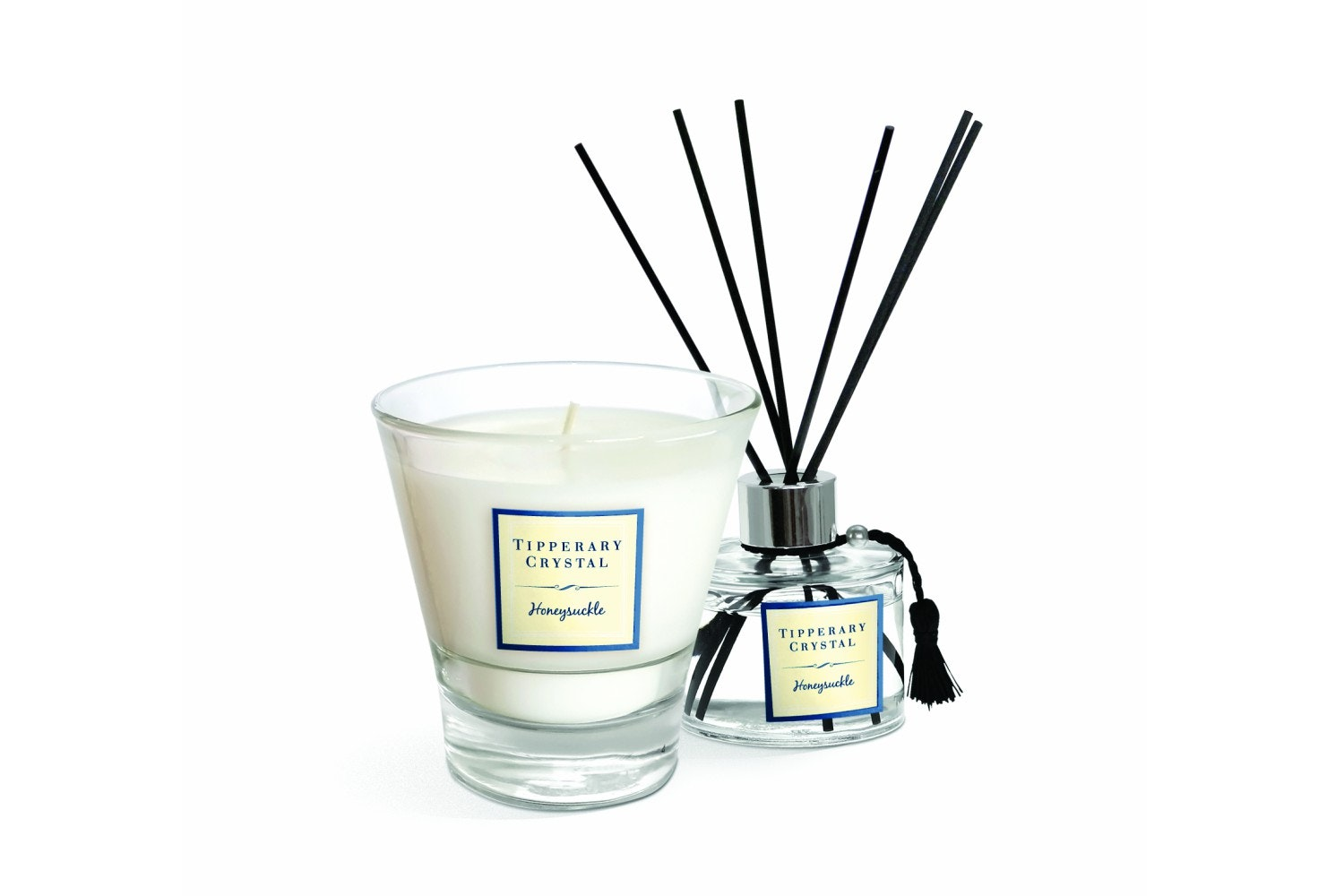 Honeysuckle Candle And Diffuser Gift Set