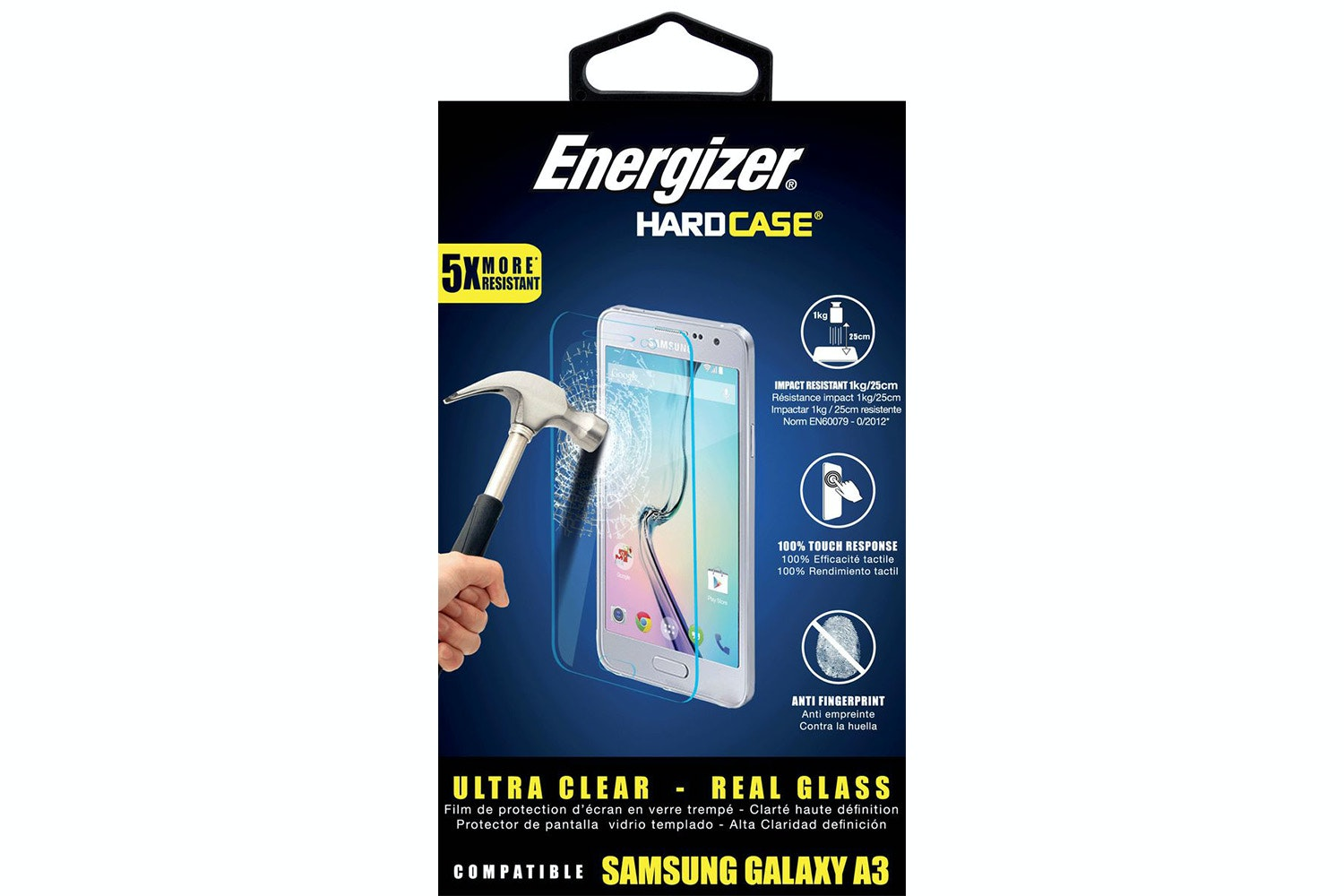 Energizer Tempered Glass for Samsung Galaxy A3 2017