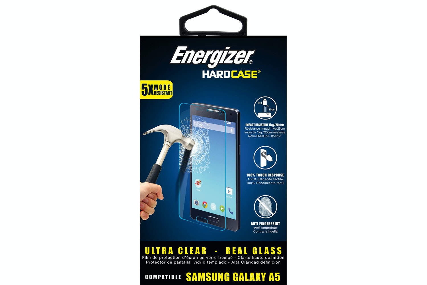 Energizer Tempered Glass for Samsung Galaxy A5 2017