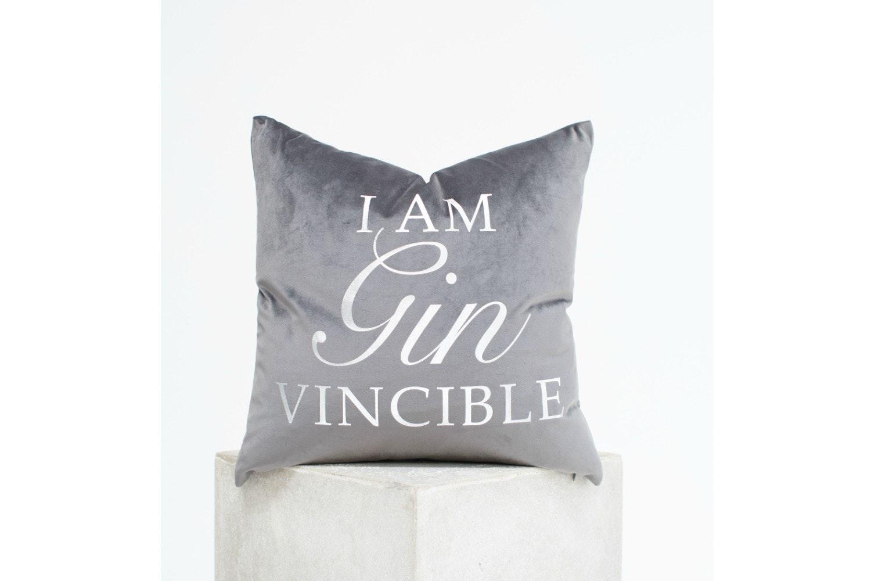 Velvet 'Gin' Cushion    45 X 45