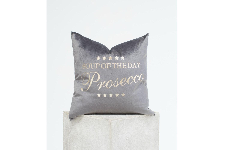 Velvet 'Prosecco' Cushion  | 45 X 45