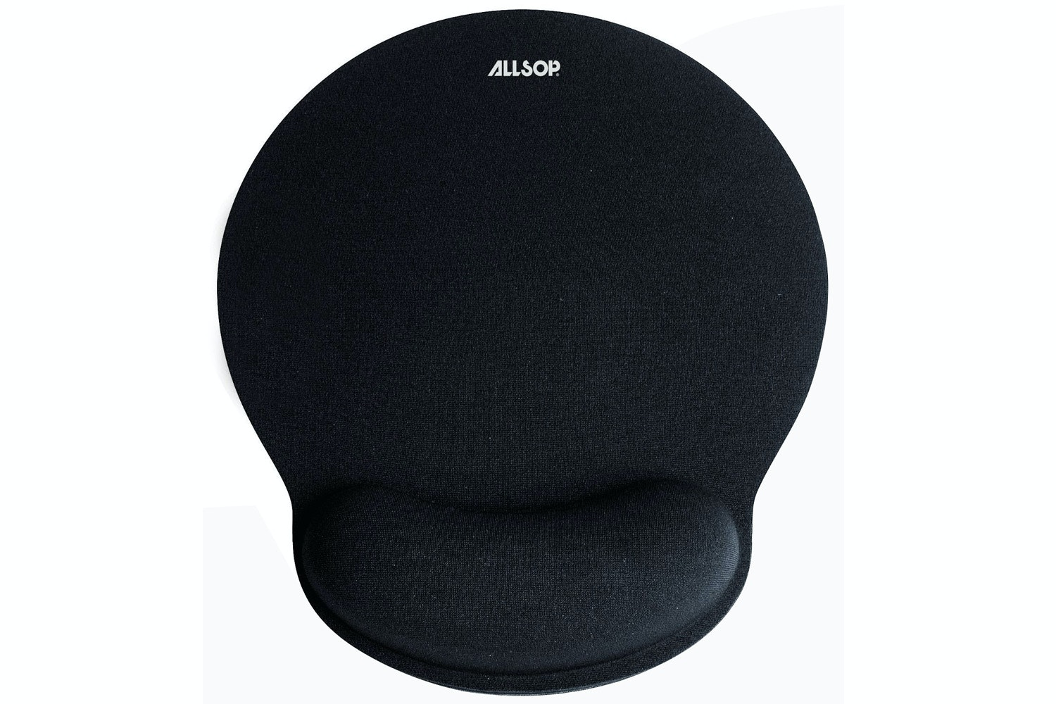 Allsop Gel Mouse Pad With Mini Wrist Rest | Black