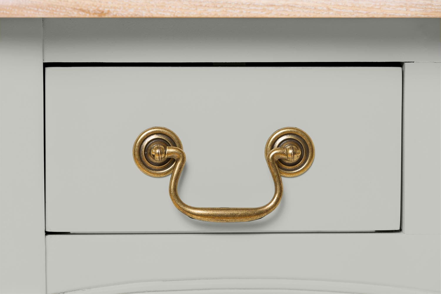 Bouvard Dressing Table 3 Drawer | Silk Seal
