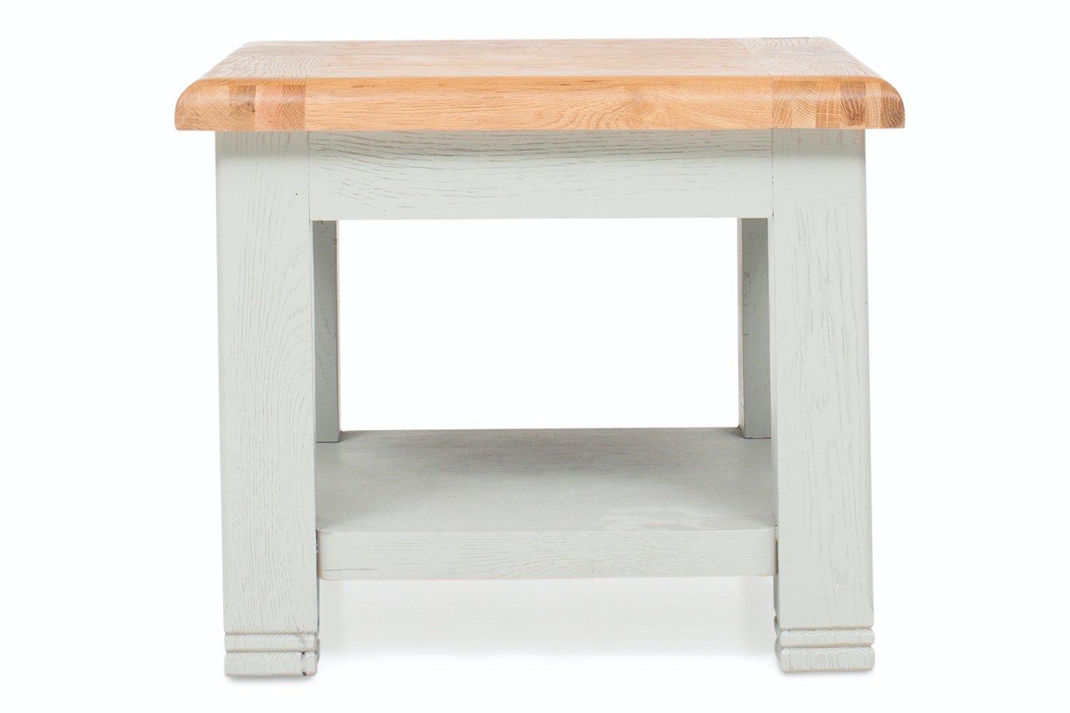 Queenstown Lamp Table | Painted Grey