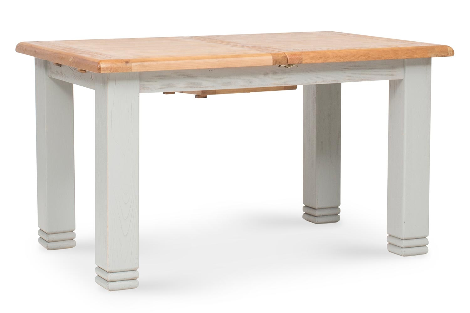 Queenstown Extending Dining Table | Painted Grey