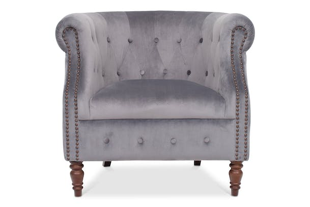 Kyoto Tub Chair | Grey