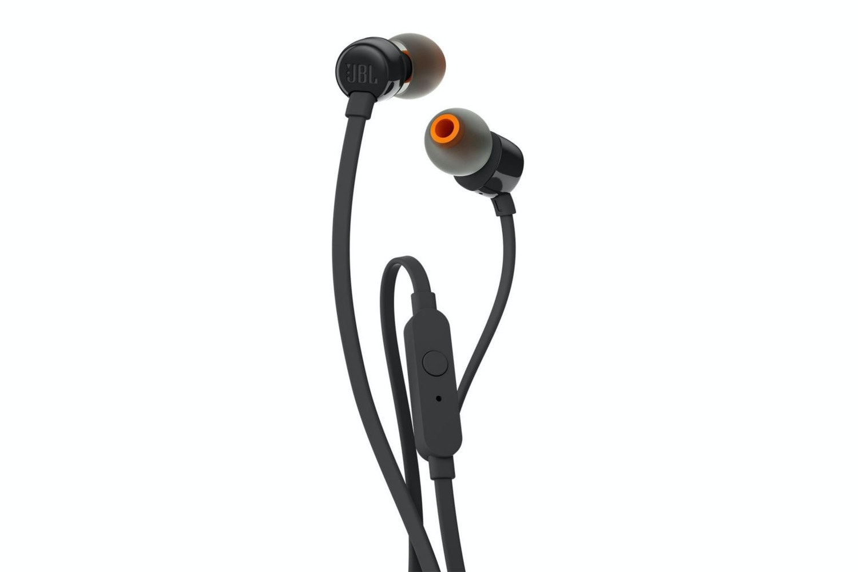 JBL T110 Pure Bass In-Ear Headphones | Black