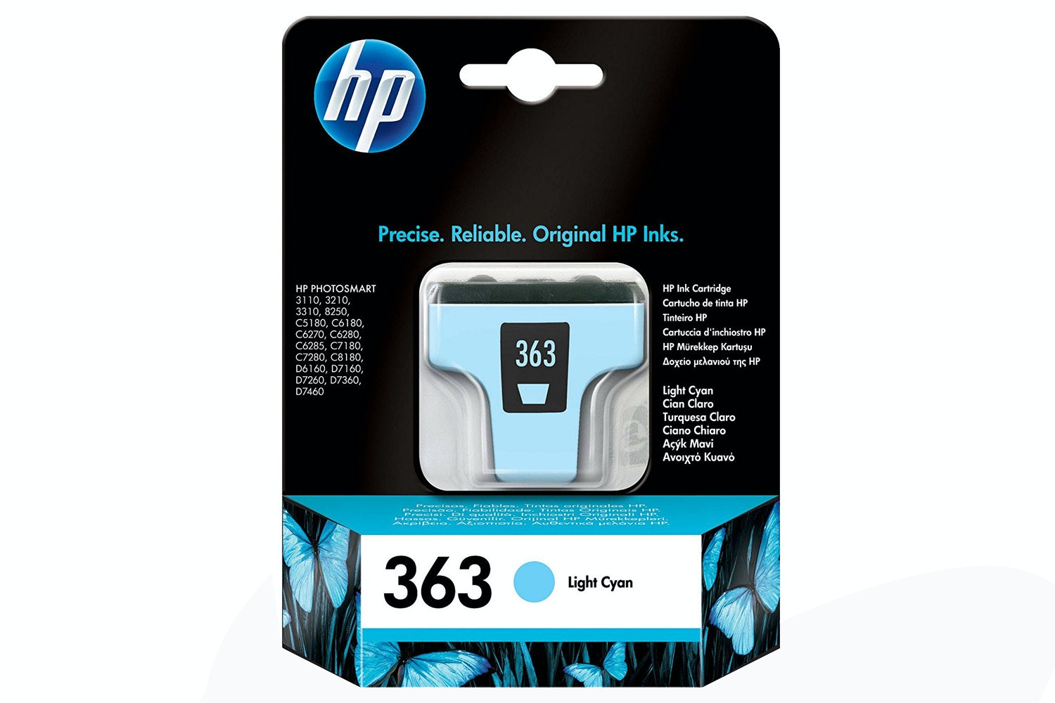 HP 363 Original Ink Cartridge | Light Cyan