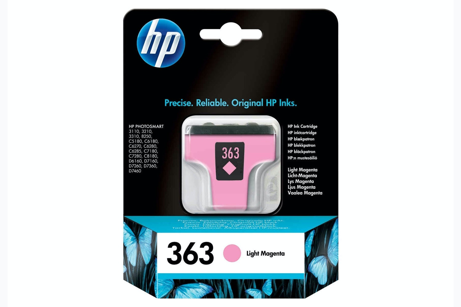 HP 363 Original Ink Cartridge | Light Magenta
