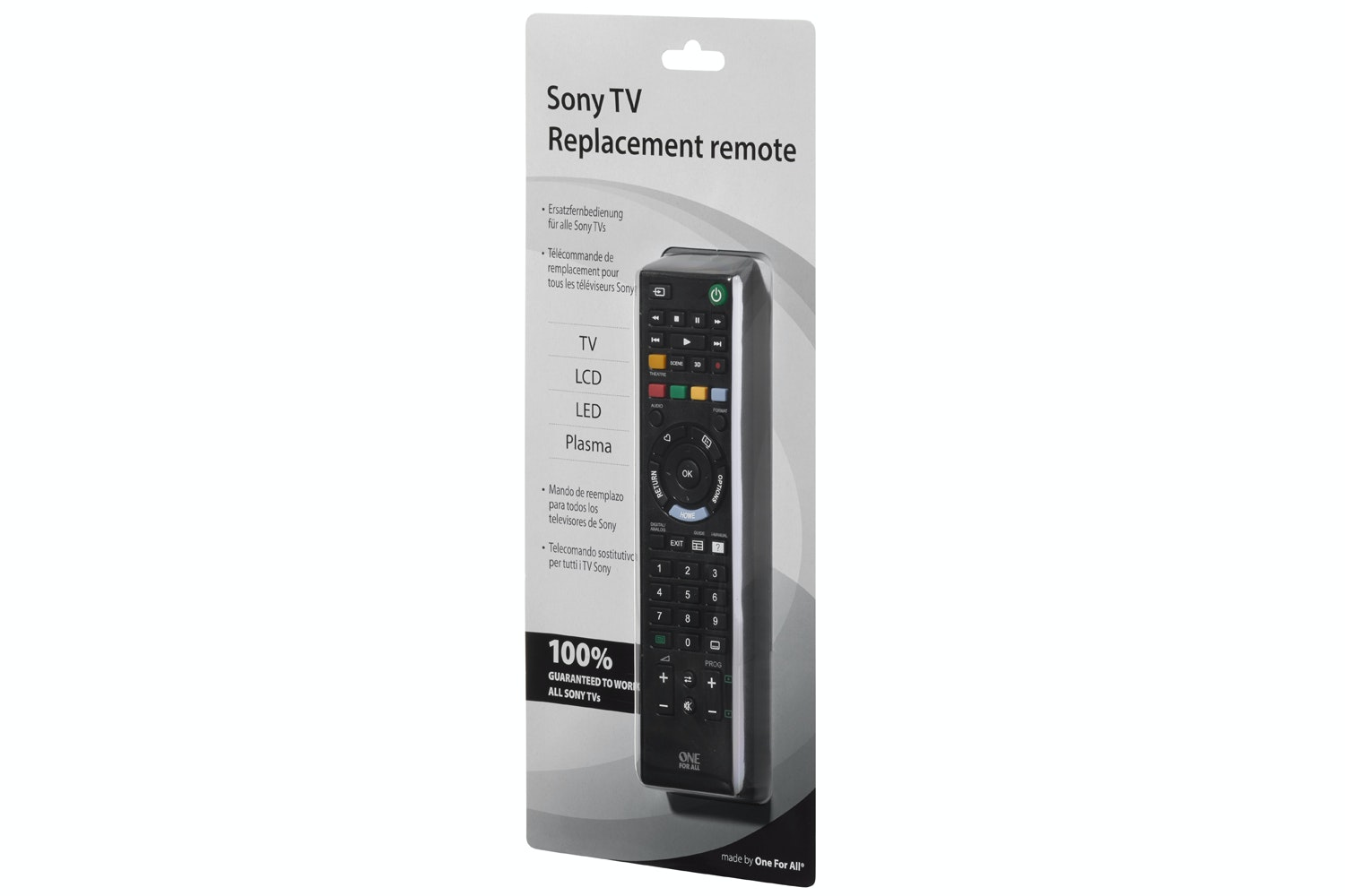 One for All Sony Replacement Remote Control | URC1912