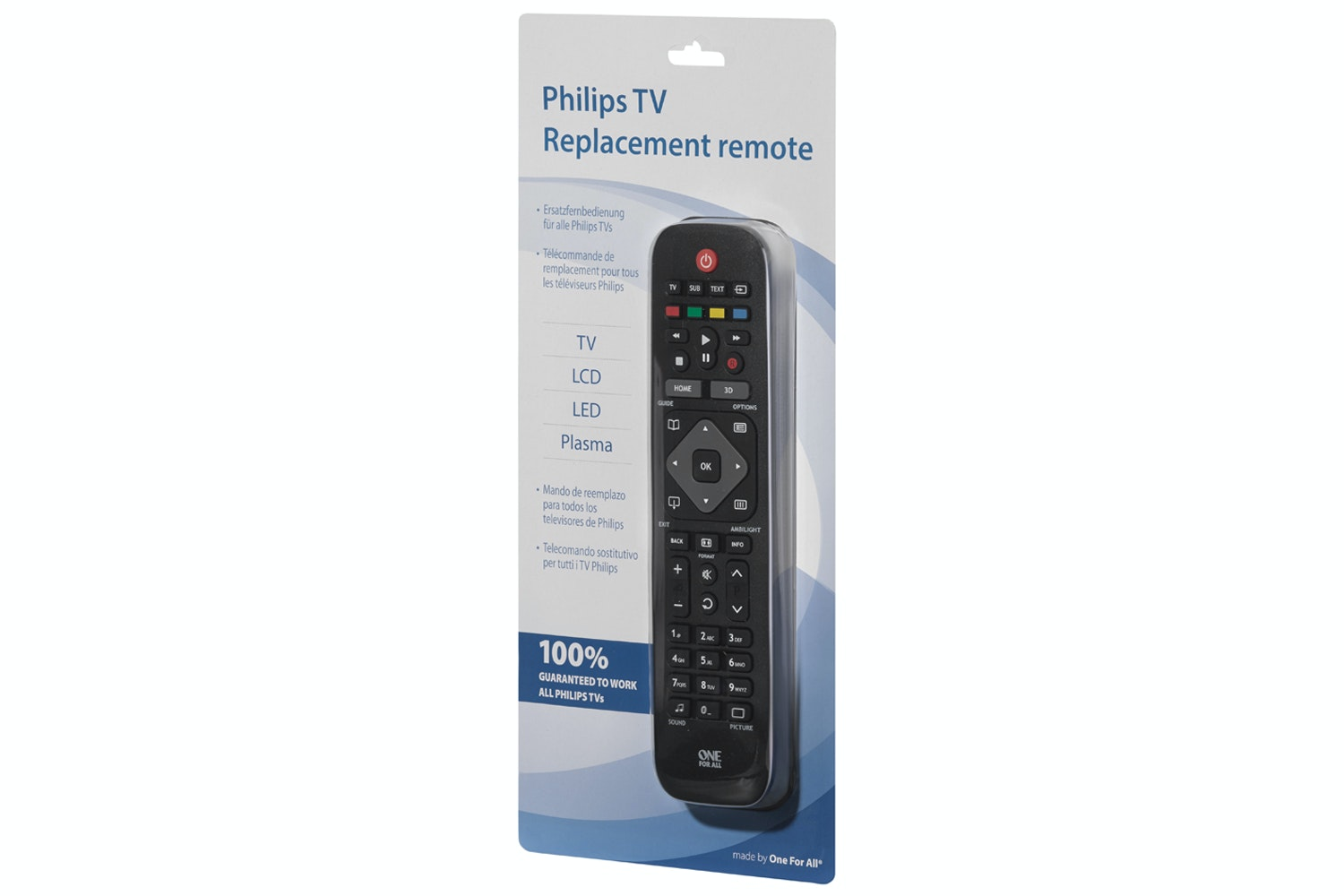 One For All Philips TV Replacement Remote | URC1913