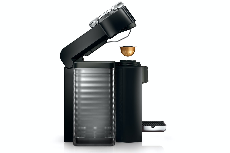 Nespresso Vertuo Plus Coffee Machine | Piano Black by Magimix