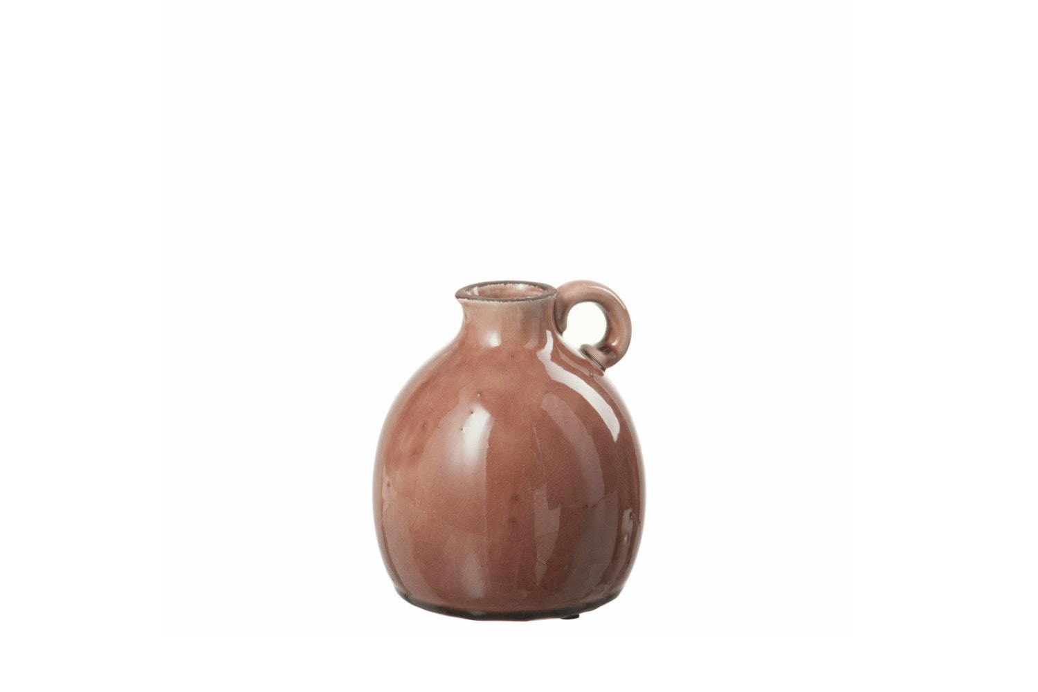 Crock Ceramic Antique Raspberry | Medium