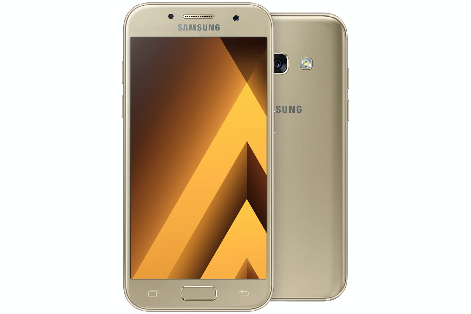 Samsung Galaxy A3 2017 | Gold | 16GB