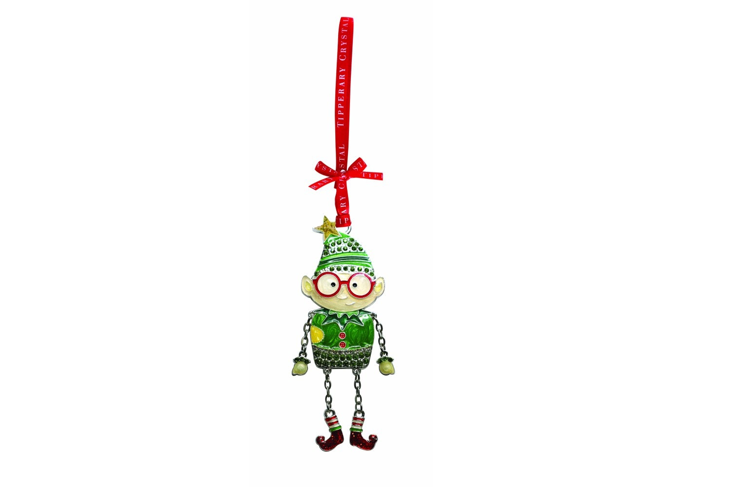 Tipperary Crystal Sparkle Elf Decoration