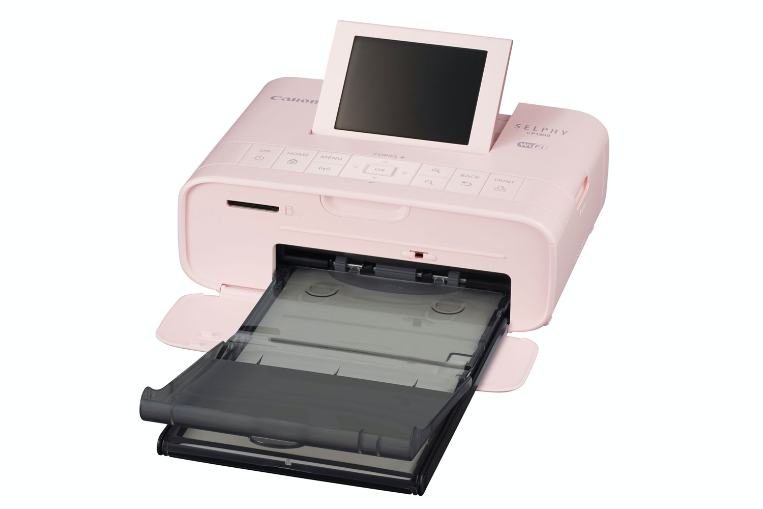 Canon Selphy CP1300 Portable Photo Printer | Pink