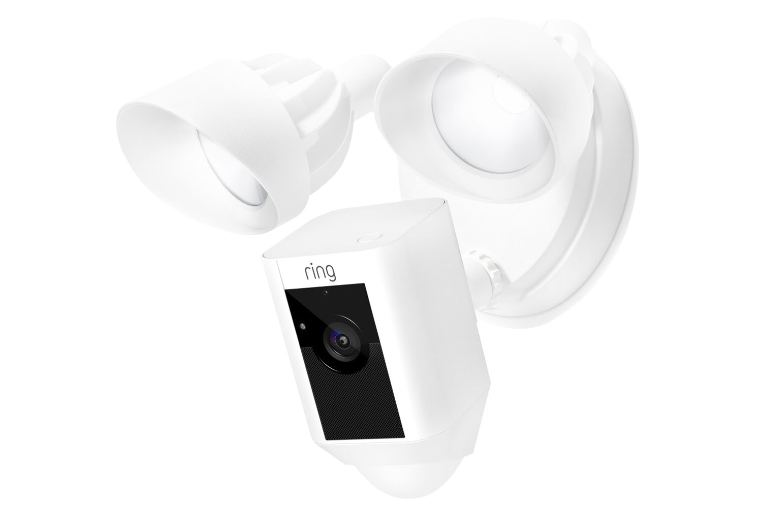 Ring Floodlight Security Camera | White