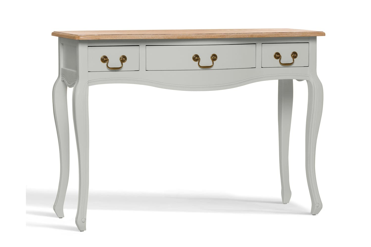 Bouvard Dressing Table 3 Drawer   Oyster Bed