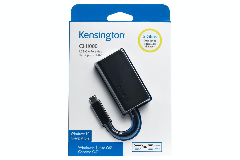Kensington 4-Port USB 3.0 Hub | Black