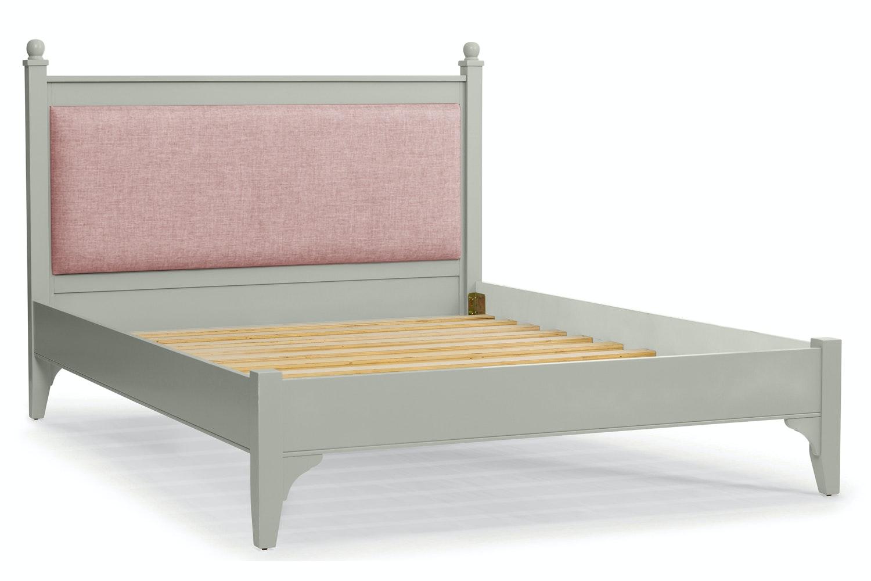 Lynwood Bed Frame | 5ft | Tweed Blush&Silk Seal