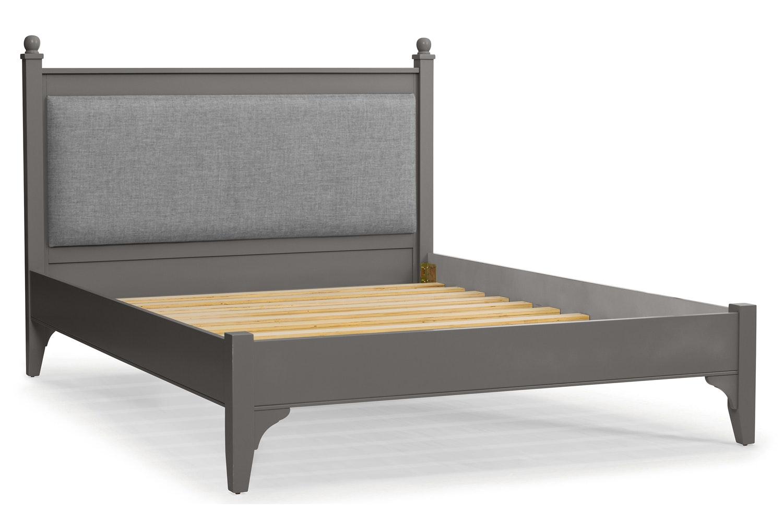 Lynwood Bed Frame | 4Ft6 | Tweed Grey&Wolfhound