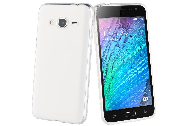Muvit Samsung Galaxy J3 Crystal Case | Transparent