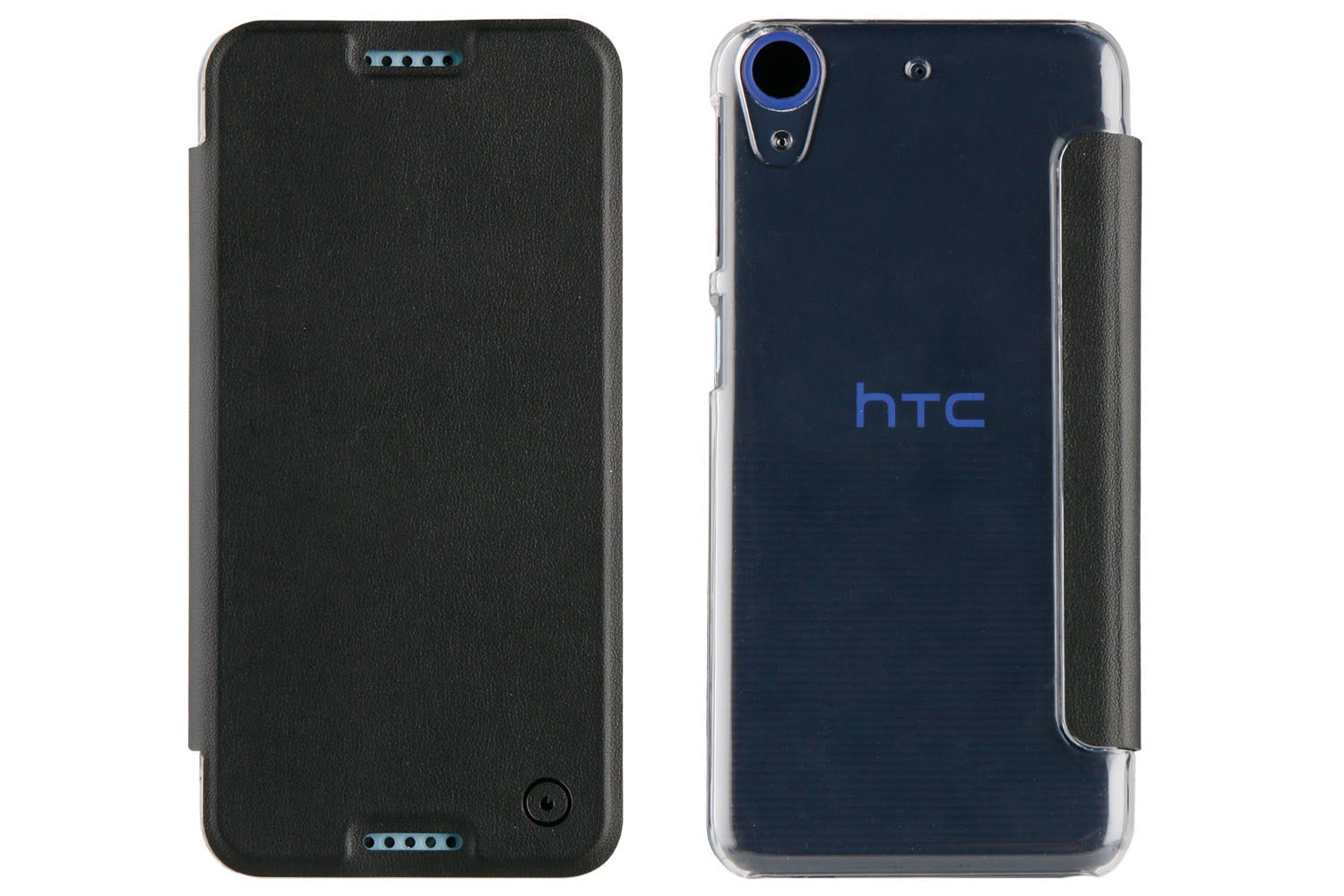 Muvit HTC Desire 650 Folio Case | Black