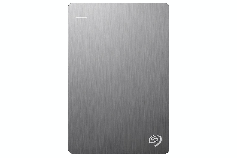 Seagate 1TB Backup Plus Slim Portable Hard Drive | Silver