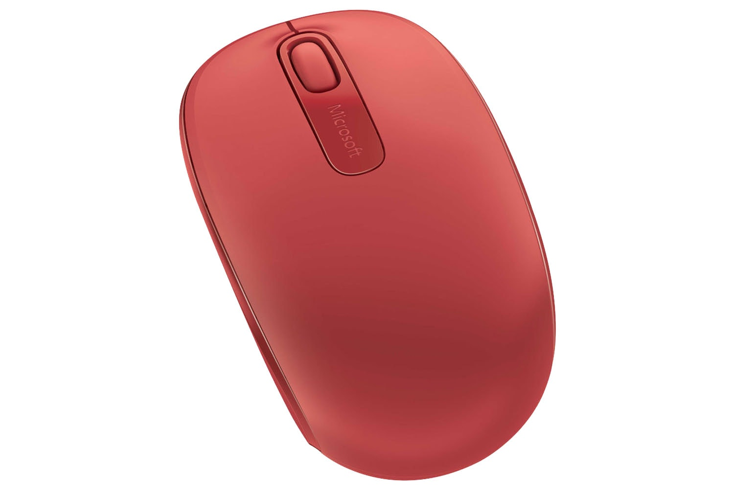 Microsoft 1850 Wireless Mobile Mouse | Red
