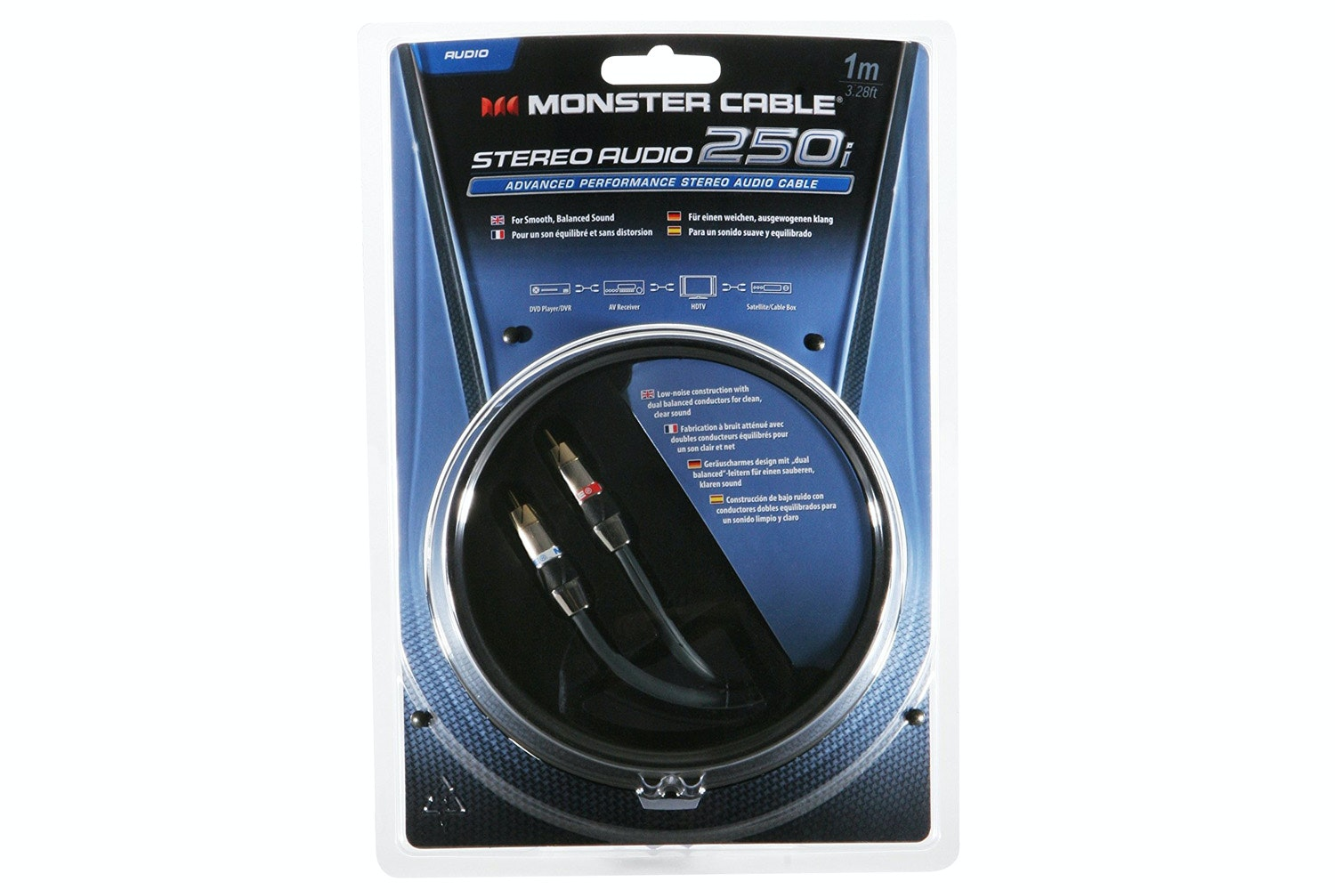 Monster 250i Stereo Audio Cable | 1m