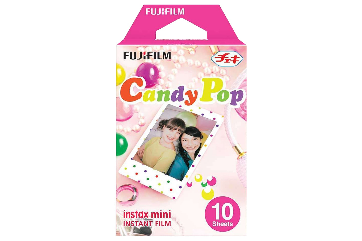 Fujifilm Instax Mini Film 10 Pack | Candy Pop