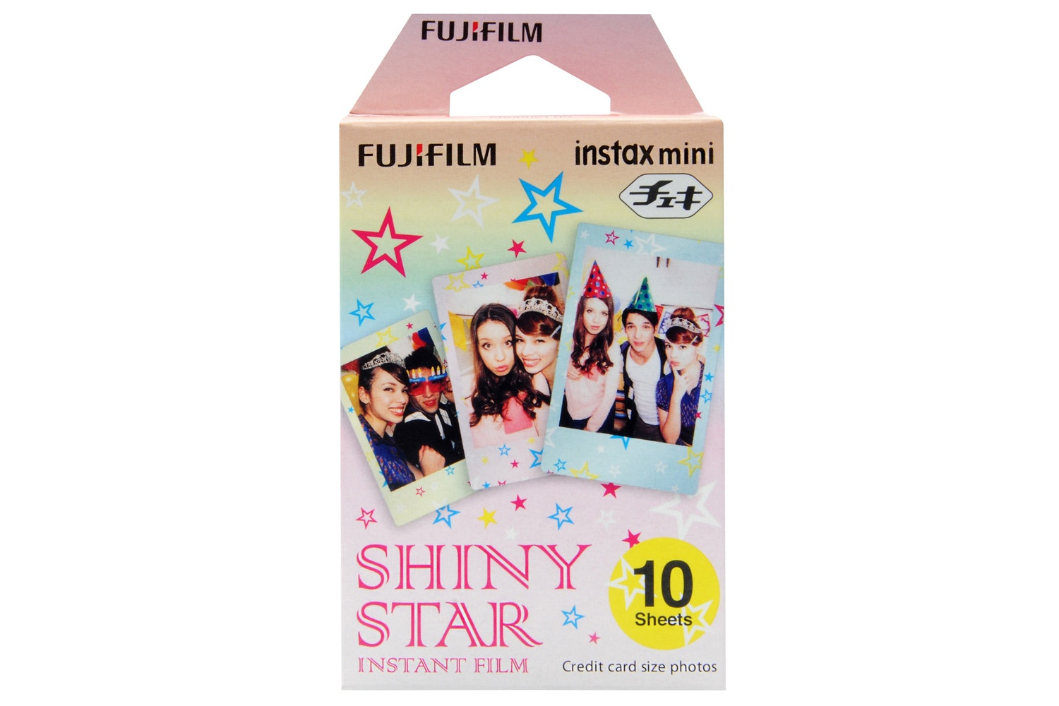 Fujifilm Instax Mini Film 10 Pack | Shiny Star