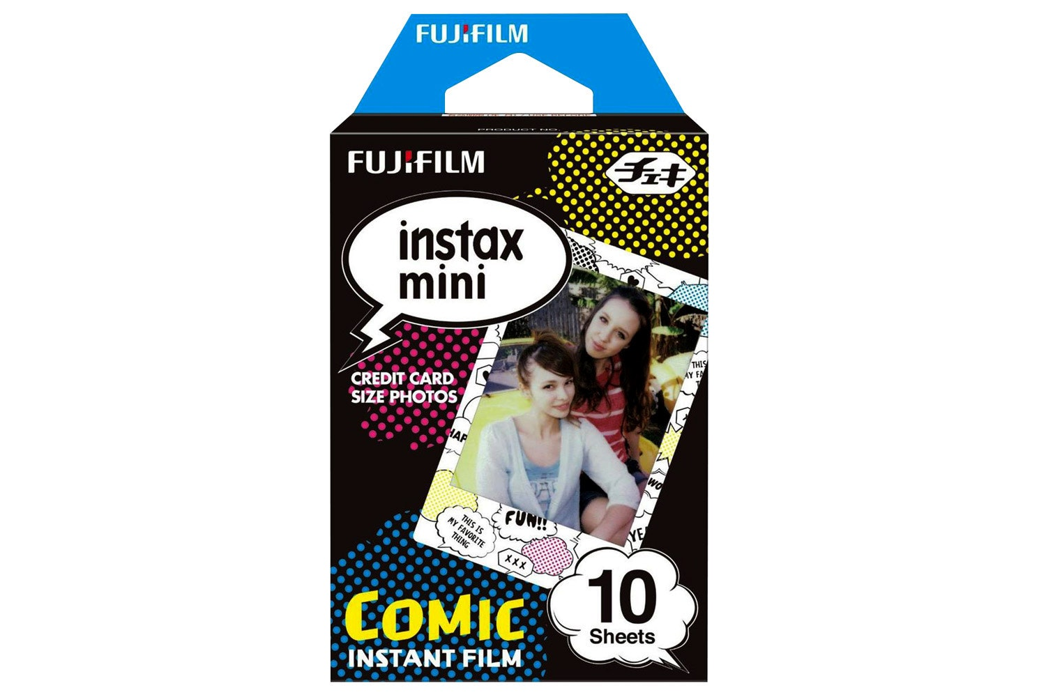 Fujifilm Instax Mini Film 10 Pack | Comic