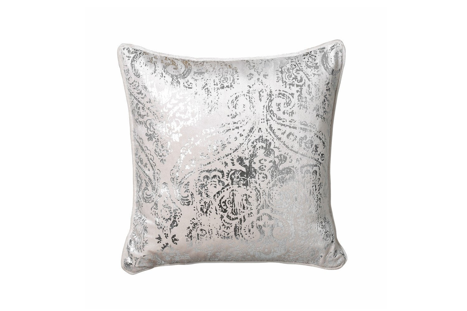 Scatterbox Opulence Damask Foil Blush Cushion