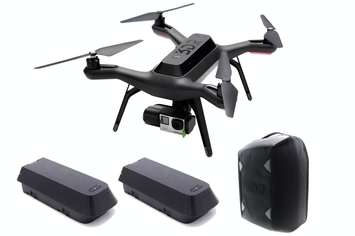 3DR Solo Smart Aerial Drone | Bundle